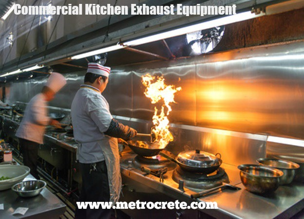 How To Design And Build A Commercial Kitchen Metrocrete