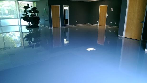 Commercial Epoxy Floor Coating : Commercial epoxy floor coatings installed in portland or