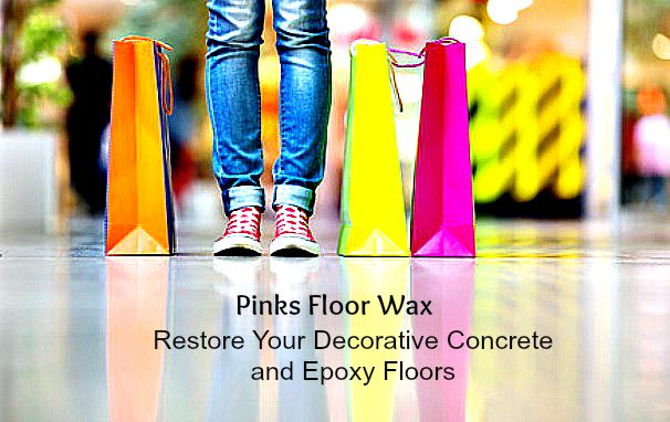 Charming Floor Wax For Decorative Concrete, Polishing And Epoxy Coatings