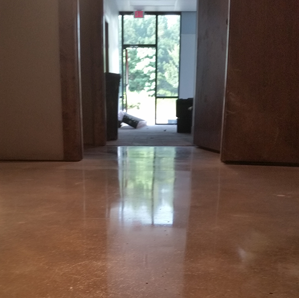 concrete polishing in Alpharetta Georgia