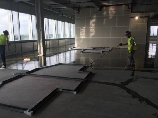 Concrete Moisture Mitigation Vapor Systems for Hospitals