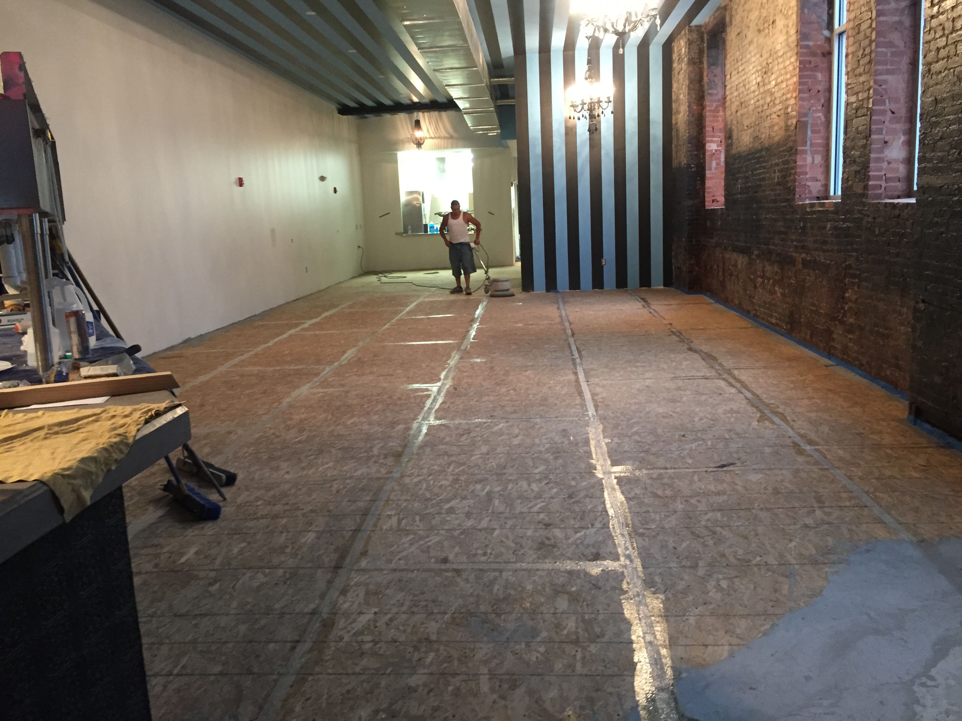 surface preparation for concrete floors
