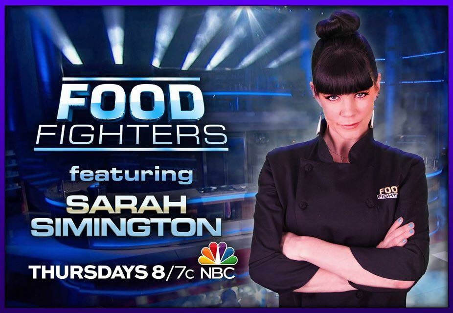 Sarah Simington on NBC's Food Fighters
