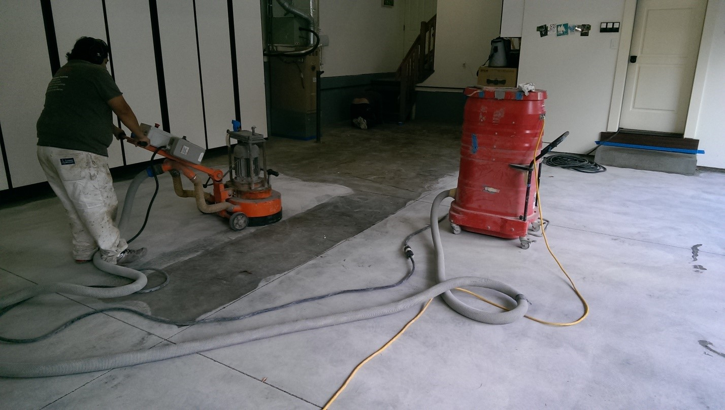 Polished concrete floors metrocrete concrete flooring for Cleaning polished concrete