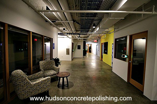 How Polished Concrete Makes Facebook S Nyc Office Better