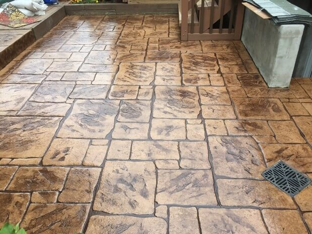 Stamped Concrete Floors Metrocrete Concrete Flooring