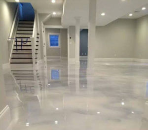What Are Metallic Epoxy Floor Coatings | MetroCrete Contractors