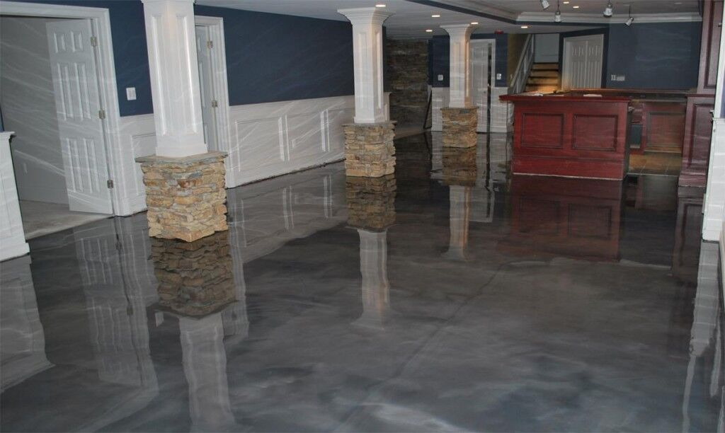 Epoxy Contractors Westchester County New York Metrocrete Concrete Flooring